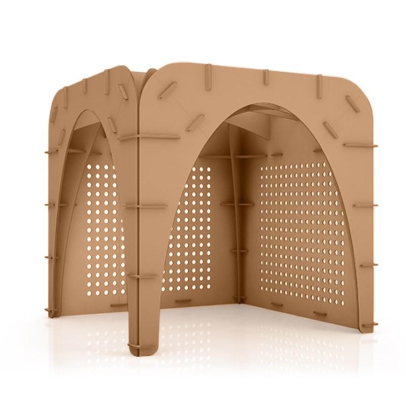 Cardboard Modular Stand Goth 236 K Origami Furniture