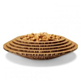 Recycled cardboard tray - Holé