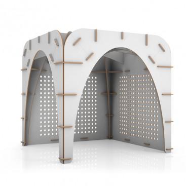 Stand modulare in cartone - Gothìk