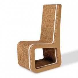 Honeycomb cardboard chair - Stripe 20