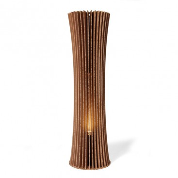 Lampada da terra in cartone riciclato - Bouquet 150