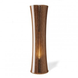 Recycled cardboard floor lamp - Bouquet 180