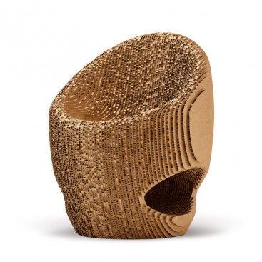 Recycled Cardboard Chair Canyon Origami Furniture